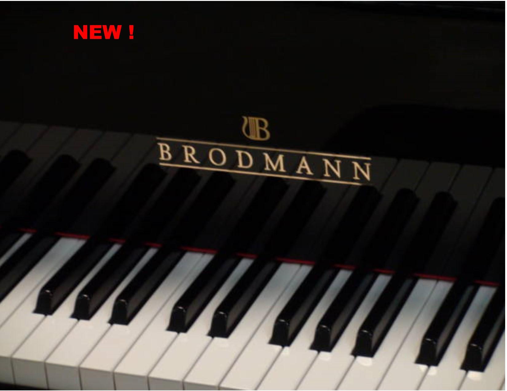 "12364-<br><font color=black><b>NEW BRODMANN</b></font> 7'0″ SEMI-CONCERT GRAND <br>•Built in Germany<br> •European Tradition<br> •European Sound <br><font color=blue><b>Click Picture for ""Live Video""</b></font> <br>"