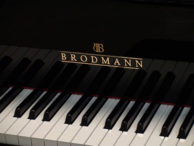 14110-<br><font color=black><b>NEW BRODMANN</b></font> 7'0″ Semi-Concert Grand Hand Built German Design