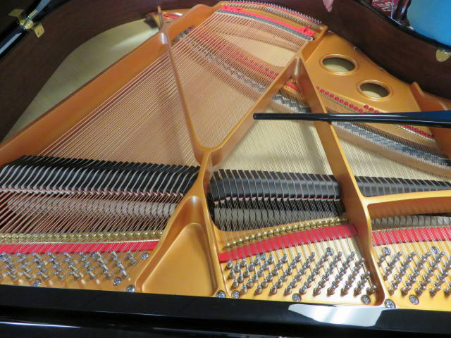 "14002 –<br><font color=black><b>NEW HAMBURG</b></font> 5'0″ Premium Grade Grand Piano – ""German Wide Tail Design"""