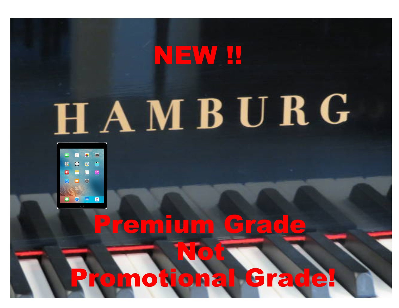 "15213 – <br><font color=black><b>NEW HAMBURG</b></font> 5'0″ Premium Grade Piano with State-of-the-Art QRS player system<br><font color=blue><b>Click Picture for ""Live Video""</b></font>"