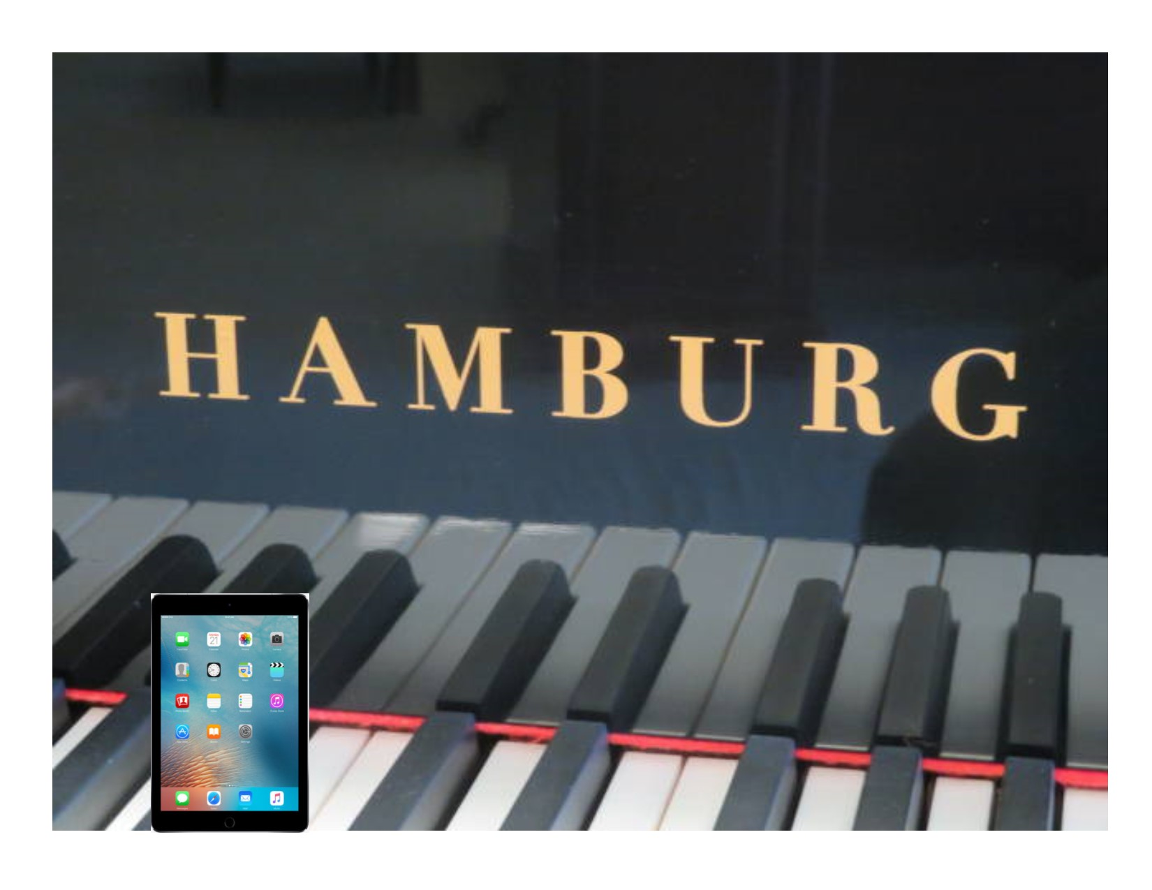15213 – <br><font color=black><b>NEW HAMBURG</b></font> 5'0″ Premium Grade Piano with State-of-the-Art QRS player system