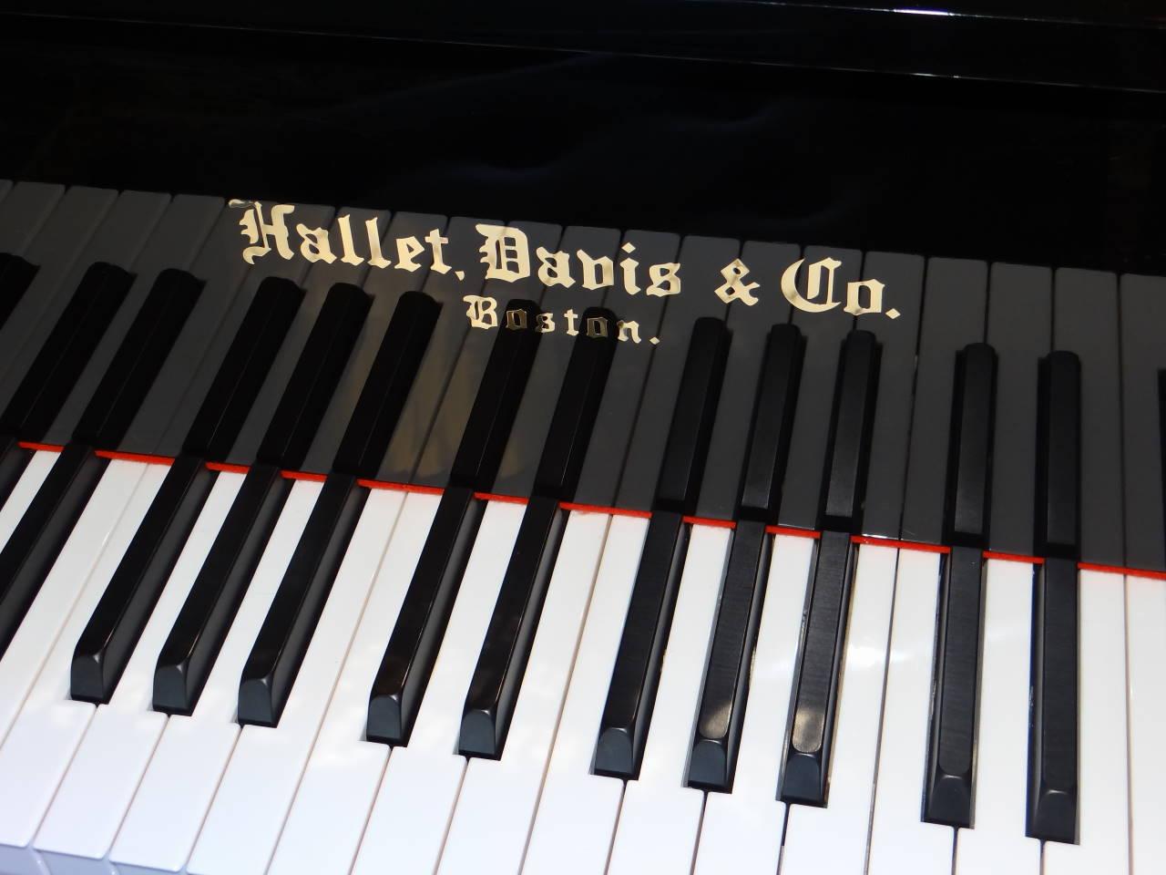 "13998-<br><font color=black><b>NEW HALLET DAVIS</b></font> 5'3″ Premium Grade Grand Piano ""German Designed"""