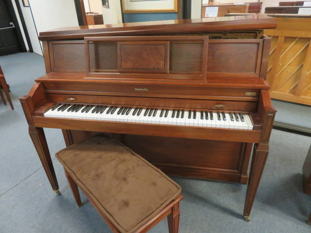 "Item #17016 <br><font color=""black""><b>BALDWIN</b></font> 45″ Professional Home Studio Piano Made in the U.S.A."
