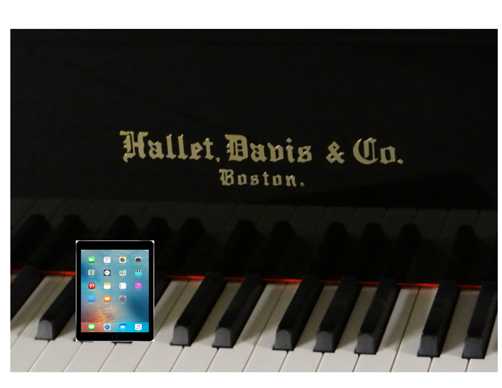 16101-<br><font color=black><b>Hallet Davis</b></font> 5'7″ Premium Grade Grand w/State of the Art QRS Wireless Player System