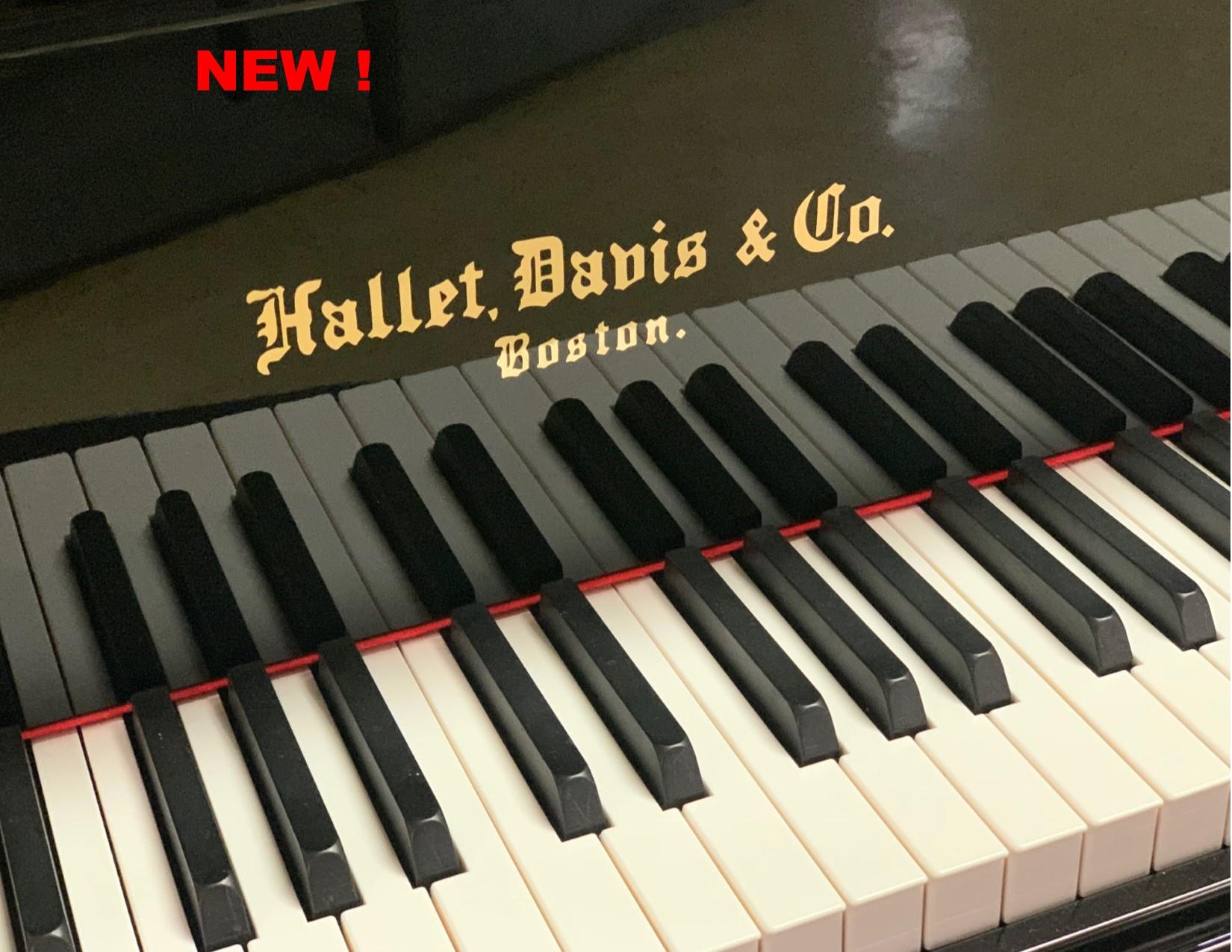 "12275-<br><font color=black><b>NEW HALLET DAVIS</b></font> 5'7″ GRAND PIANO<br> •European Design<br> •European Sound<br> •European Tradition <br><font color=""blue""><b>Click Picture for ""Live Video""</b></font>"