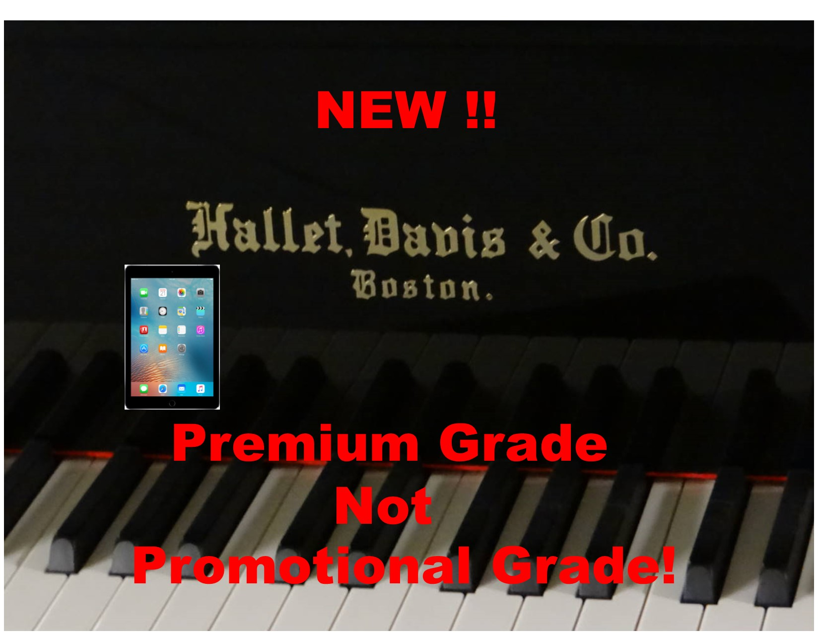 "15215-<br><font color=black><b>Hallet Davis</b></font> 5'0″ Premium Grade Grand w/State of the Art QRS Wireless Player System<br><font color=blue><b>Click Picture for ""Live Video""</b></font><br><font color=""red""><b>Guaranteed Lowest Price !</b></font>"