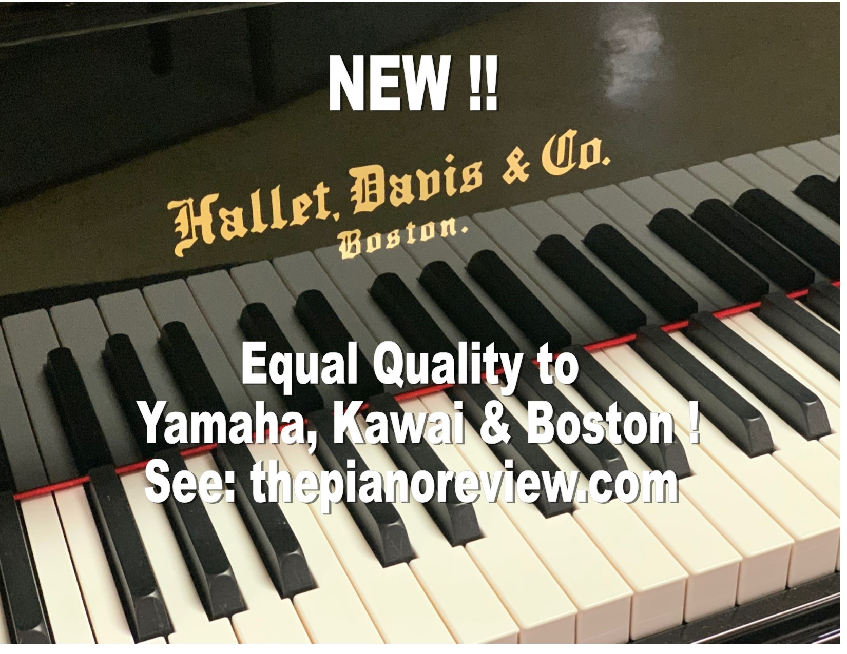 "12447<br><font color=black><b>NEW HALLET DAVIS</b></font> 5'0″ Premium Grade Grand<br> •European Design<br> •European Sound <br>•European Tradition <br><font color=""blue""><b>Click Picture for ""Live Video""</b></font>"