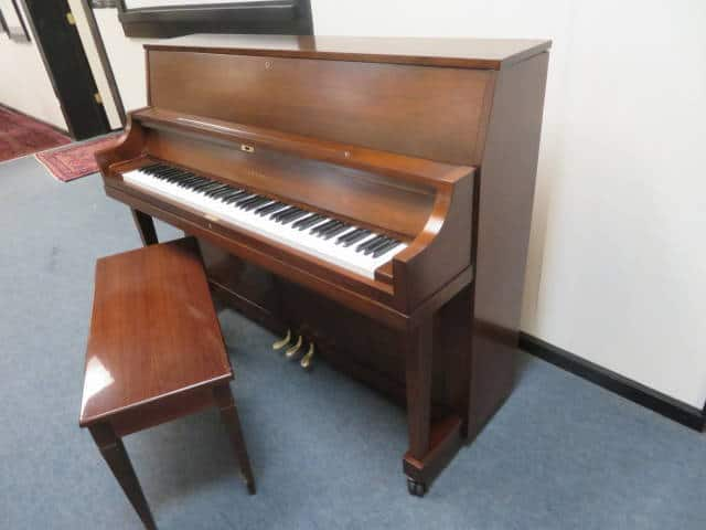 "29353<br><font color=""black""><b>YAMAHA</b></font> 45″ Professional Upright Beautiful Satin Walnut"