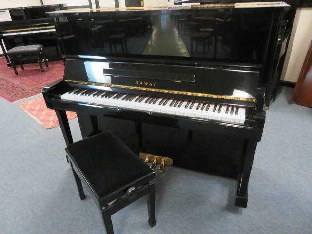 """29540-<br><font color=""""black""""><b>KAWAI</b></font> 49″ Professional Upright Made in Japan Magnificent!<br><font color=""""red""""><b>SOLD WILMINGTON, OH</b></font>"""