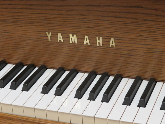 "13896-<br><font color=""black""><b>YAMAHA</b></font> 5'7″ Premium Grand Gorgeous Satin American Oak Made for the U.S. Market ""Superb"""