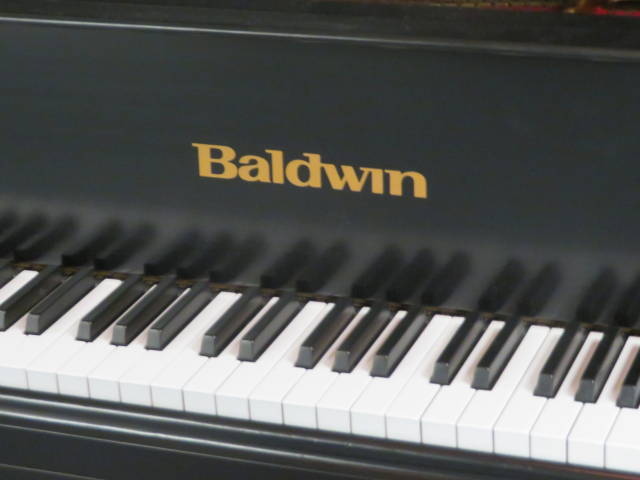"13895-<br><font color=""black""><b>BALDWIN</b></font> 6'3″ Model L Artist Grand Classic Satin Ebony ""Made in the U.S.A."" MINT""!"