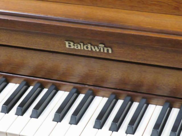 "15937<br><font color=""black""><b>BALDWIN</b></font> Hamilton 45″ Upright Beautiful Walnut<br><font color=""blue""><b>Click Picture for ""Live Video""</b></font>"