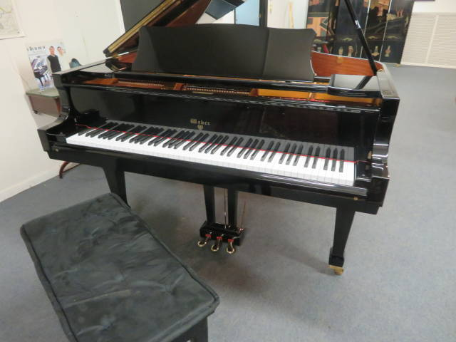 "13897-<br><font color=""black""><b>WEBER</b></font> 6'1″ Grand Concert Level Tone! Excellent! <br><font color=""red""><b> SOLD – CENTERVILLE, OH</b></font>"