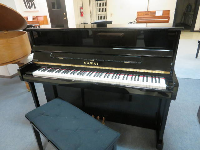 """15930-<br><font color=""""black""""><b>KAWAI</b></font> 45″ Upright Piano Superb Touch and Tone!<br><font color=""""red""""><b>SOLD – TIPP CITY, OH</b></font>"""