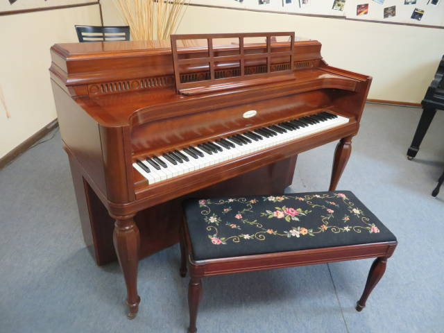 """15940-<br><font color=""""black""""><b>STEINWAY & SONS</b></font> 40″ """"Vintage"""" Upright Hand Built in New York Beautiful Classical Tone! <br><font color=""""blue""""><b>Click Picture for """"Live Video""""</b></font>"""