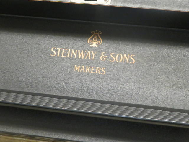 "15779-<br><font color=""black""><b>STEINWAY & SONS</b></font> ""Vintage"" K 52″ Professional Upright Powerful Tone !"
