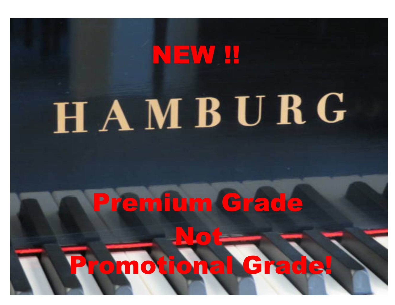 "12600-<br><font color=black><b>NEW HAMBURG</b></font> 5'3″ Grand Piano – German Wide Tail Design – German Scale Design<br><font color=blue><b>Click Picture for ""Live Video"" and Specifications </b></font>"
