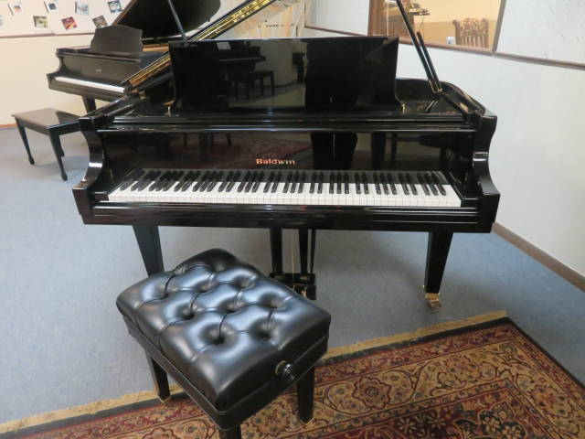 "12899-<br><font color=black><b>BALDWIN 6'3″ MODEL L</b></font> Hand Built Artist Grand Made for the Professional Built in 2000<br><font color=blue><b>Click Picture for ""Live Video""</b></font>"