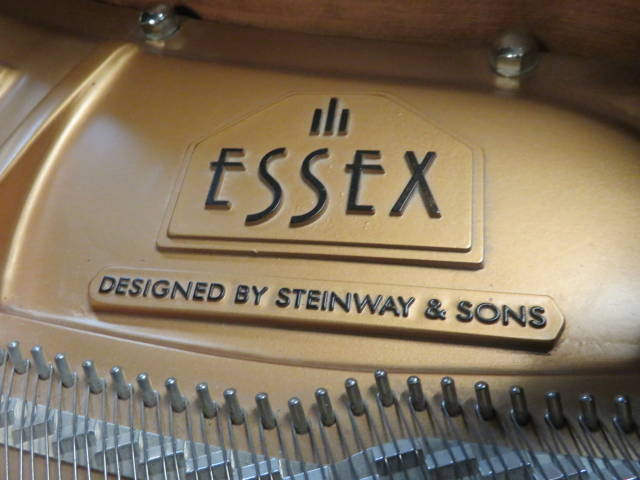 12902-<br><font color=black><b>STEINWAY & SON ESSEX</b></font> 5'4″ Grand Piano Built in 2006