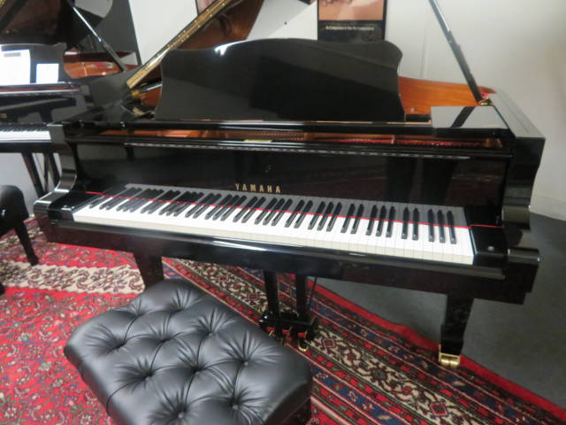 "12908-<br><font color=black><b>YAMAHA</b></font> 6'11"" Model C6  Professional Semi-Concert Grand ""Immaculate<br><font color=red><b>"" SOLD – CINCINNATI, OH </b></font>"