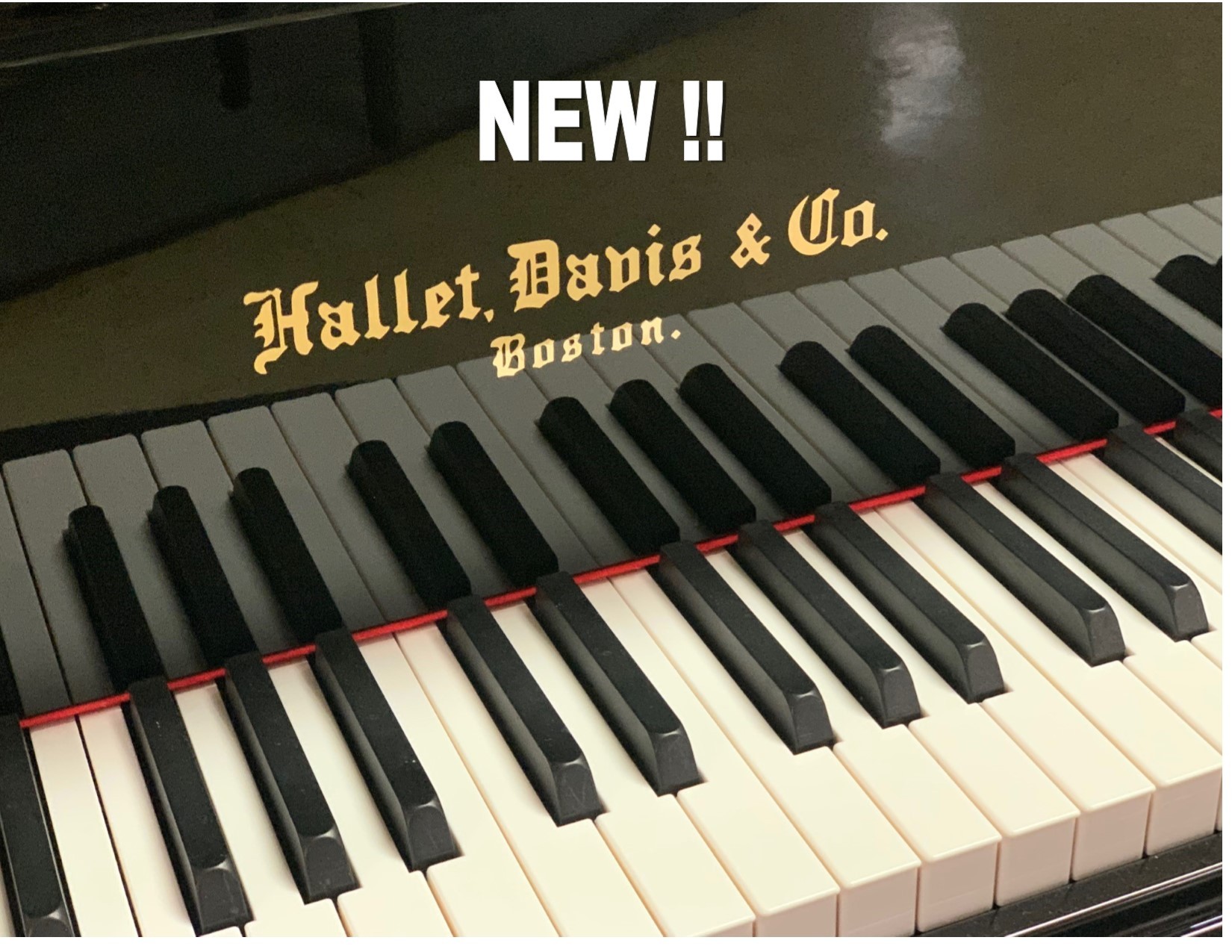 "12897-<br><font color=black><b>NEW HALLET DAVIS</b></font> 5'7″ GRAND PIANO<br> •European Design<br> •European Sound<br> •European Tradition <br><font color=""blue""><b>Click Picture for ""Live Video""</b></font>"