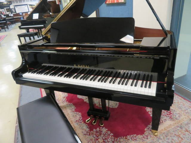 """12650-<br><font color=black><b>KAWAI</b></font> 5'1″ GE-20 """"Premium Grade"""" Grand Handcrafted in Japan """"Perfect""""<br><font color=""""blue""""><b>Click Picture for """"Live Video</b></font>"""