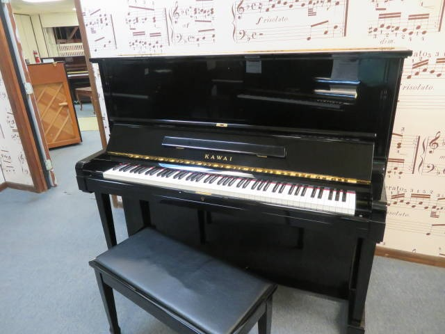 "15723-<br><font color=""black""><b>KAWAI</b></font> 52″ Professional Upright Made in Japan Superb ! <br><font color=""blue""><b>Click Picture for ""Live Video</b></font>"