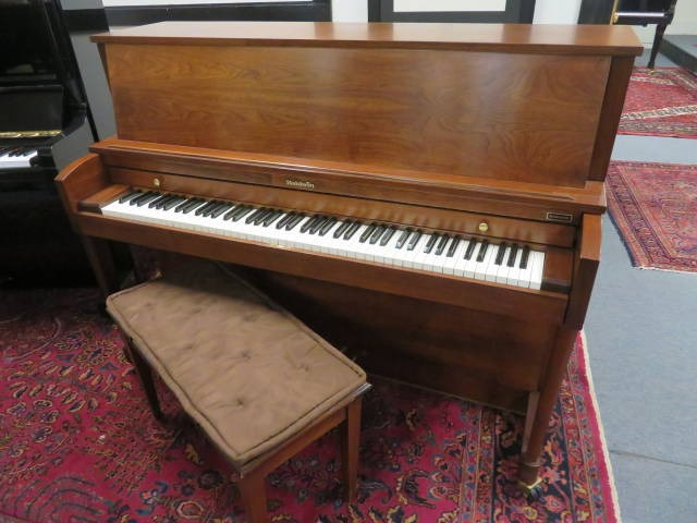 "15734-<br><font color=""black""><b>BALDWIN</b></font> 45″ Professional Upright Made in the U.S.A. Excellent ! <br><font color=""blue""><b>Click Picture for ""Live Video</b></font>"