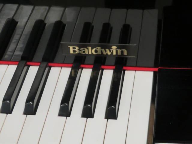 "12659-<br><font color=black><b>BALDWIN 5'1″ GRAND PIANO ""HOWARD""</b></font> Beautiful Polished Ebony ""Excellent""<br><font color=red><b> SOLD – DAYTON, OH </b></font>"