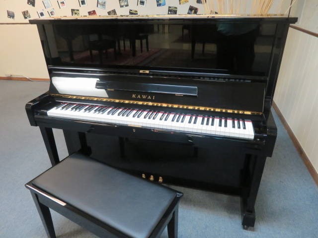 "15724-<br><font color=""black""><b>KAWAI</b></font> 49″ Professional Upright Made in Japan Immaculate ! <font color=blue><b>Click Picture for ""Live Video""</b></font>"