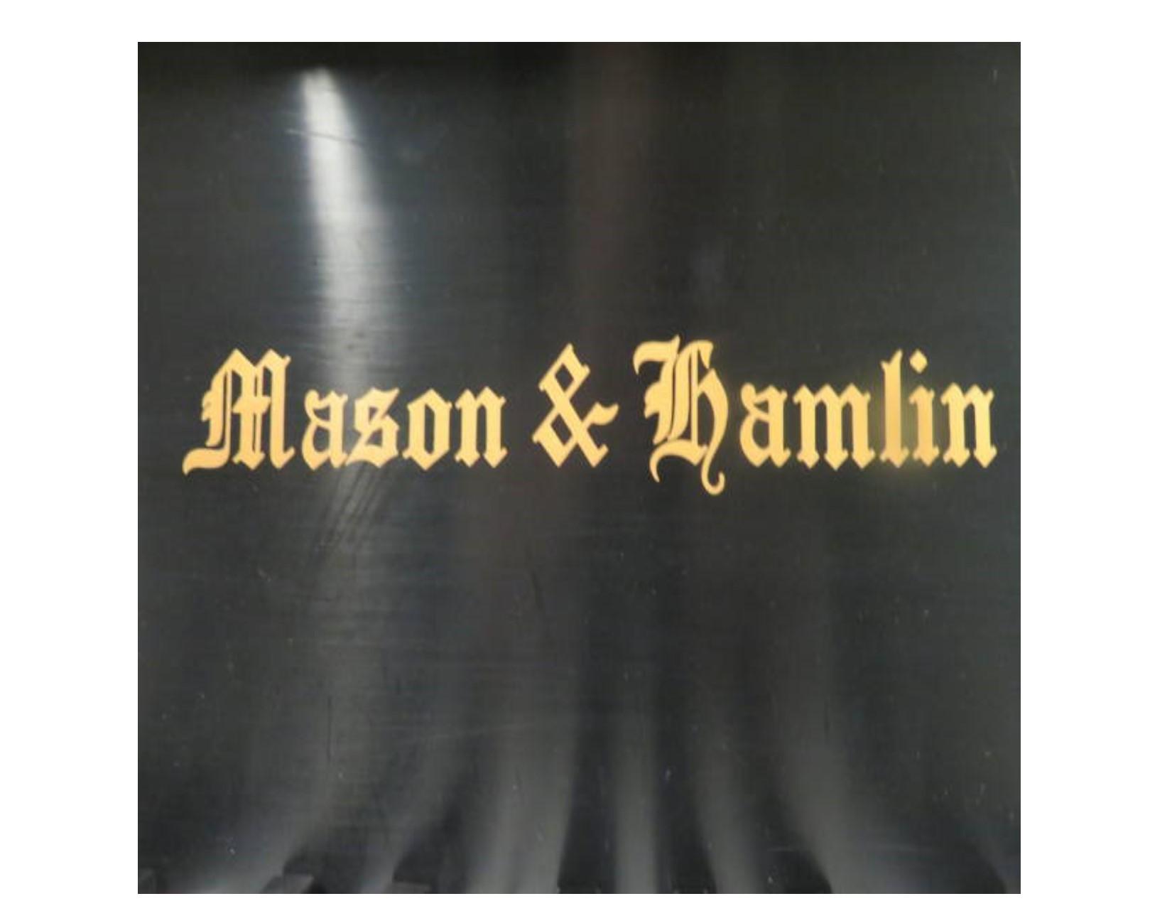 "12498-<br><font color=black><b>MASON & HAMLIN VINTAGE</b></font> 7'0″ Model BB Concert Grand Professionally Rebuilt and Refinished Classic Satin Ebony <br><font color=blue><b>Click Picture for ""Live Video""</b></font>"