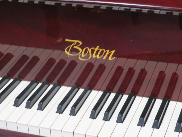 "12476-<br><font color=black><b>BOSTON 5'11"" Grand Piano By Steinway & Sons</b></font> Rarely Played Immaculate! Polished Mahogany</b></font> <br><font color=blue><b>Click Picture for ""Live Video""</b></font>"