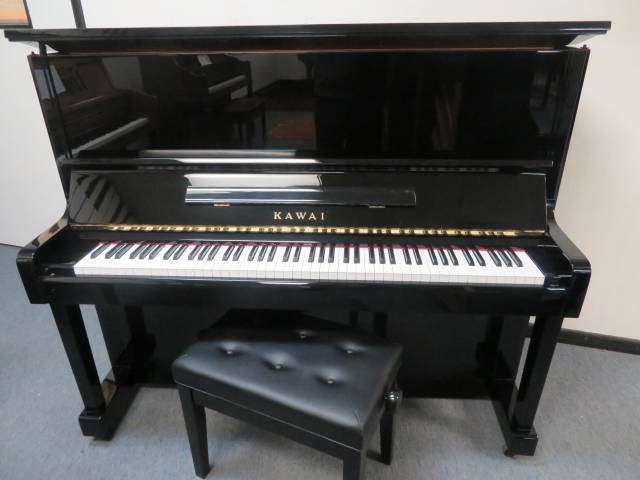 """15427-<br><font color=""""black""""><b>KAWAI</b></font> 49″ Professional Upright Excellent Condition Inside and Outside <br><font color=""""blue""""><b>Click Picture for """"Live Video</b></font>"""
