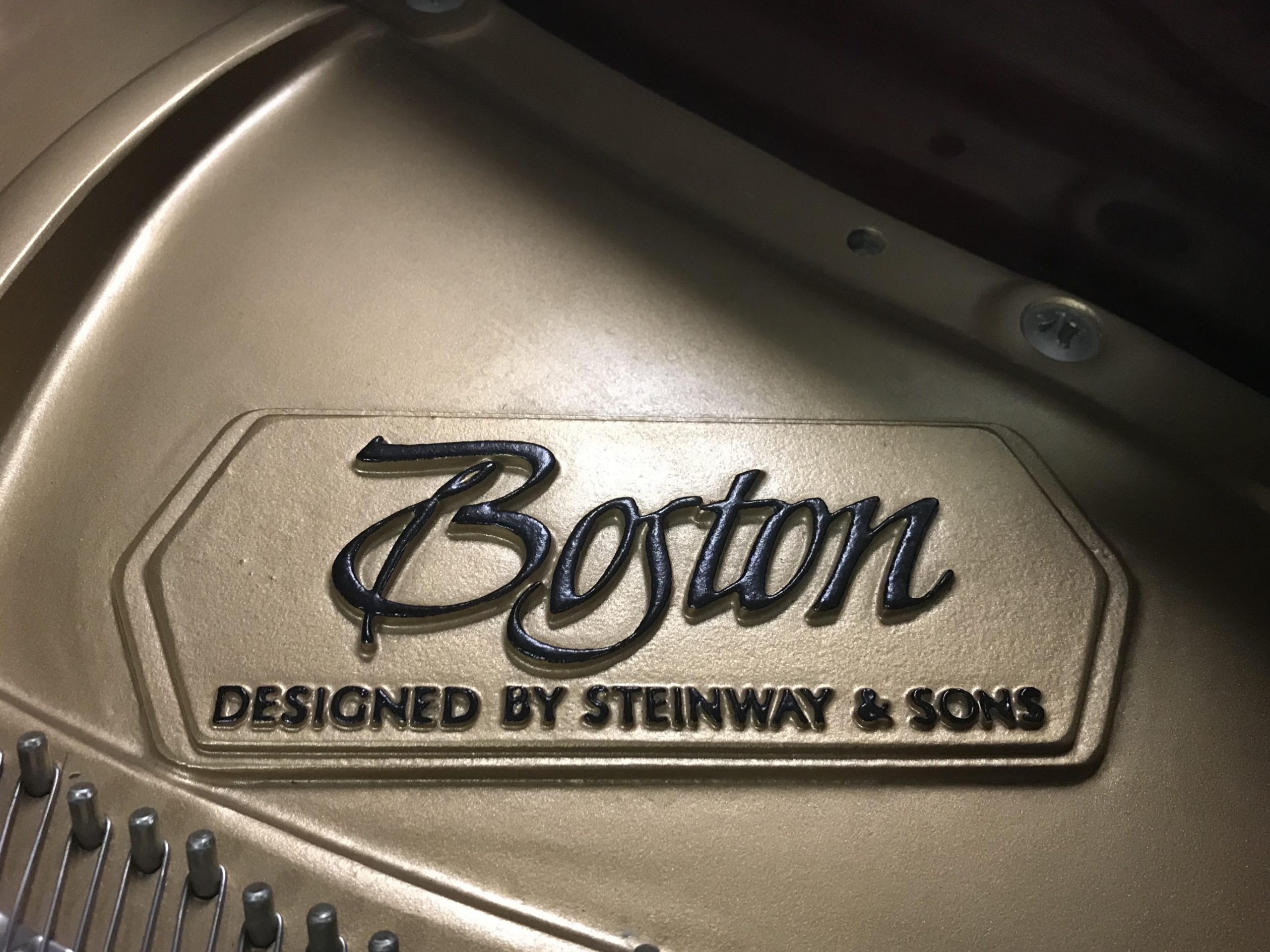 """12109-<br><font color=black><b>BOSTON 5'11"""" Grand Piano By Steinway & Sons</b></font> Rarely Played Immaculate! Polished Mahogany</b></font> <br><font color=blue><b>Click Picture for """"Live Video""""</b></font>"""