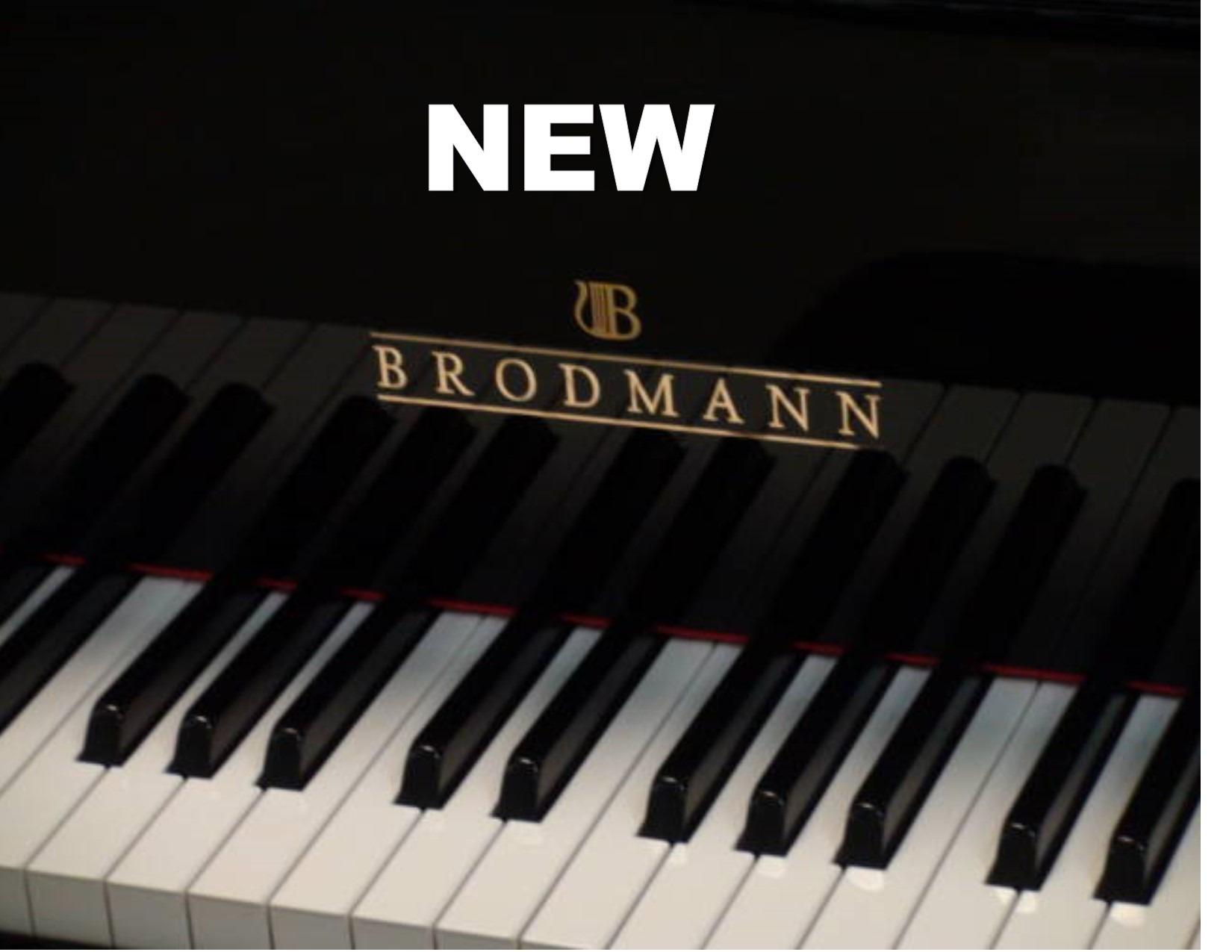 "12470<br><font color=black><b>NEW BRODMANN </b></font> 6'2″  GRAND   •European Built •European Tradition •European Sound<br><font color=""blue""><b>Click Picture for ""Live Video""</b></font>"