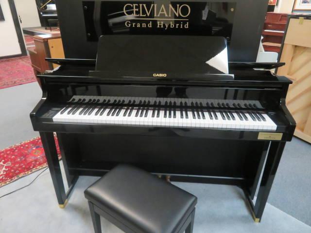 "17894-<br><font color=""black""><b> Casio GP-500BP </b></font> Celviano Hybrid Digital Piano w/ Deluxe Adjustable Bench"