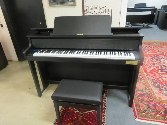 """17896-<br><font color=""""black""""><b> Casio GP-310 </b></font> Celviano Hybrid Digital Piano w/ Deluxe Adjustable Bench<br><font color=""""blue""""><b>Click Picture for """"Live Video""""</b></font>"""