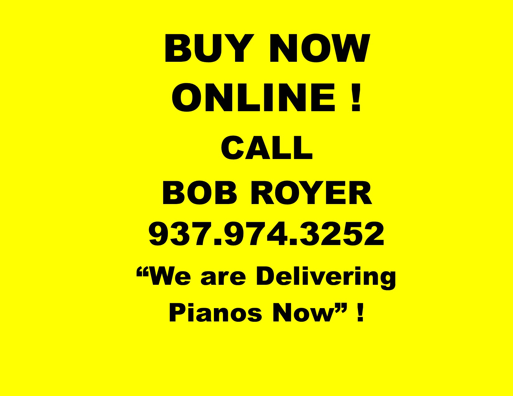 12476- BUY NOW ONLINE ! WE ARE DELIVERING PIANOS NOW !