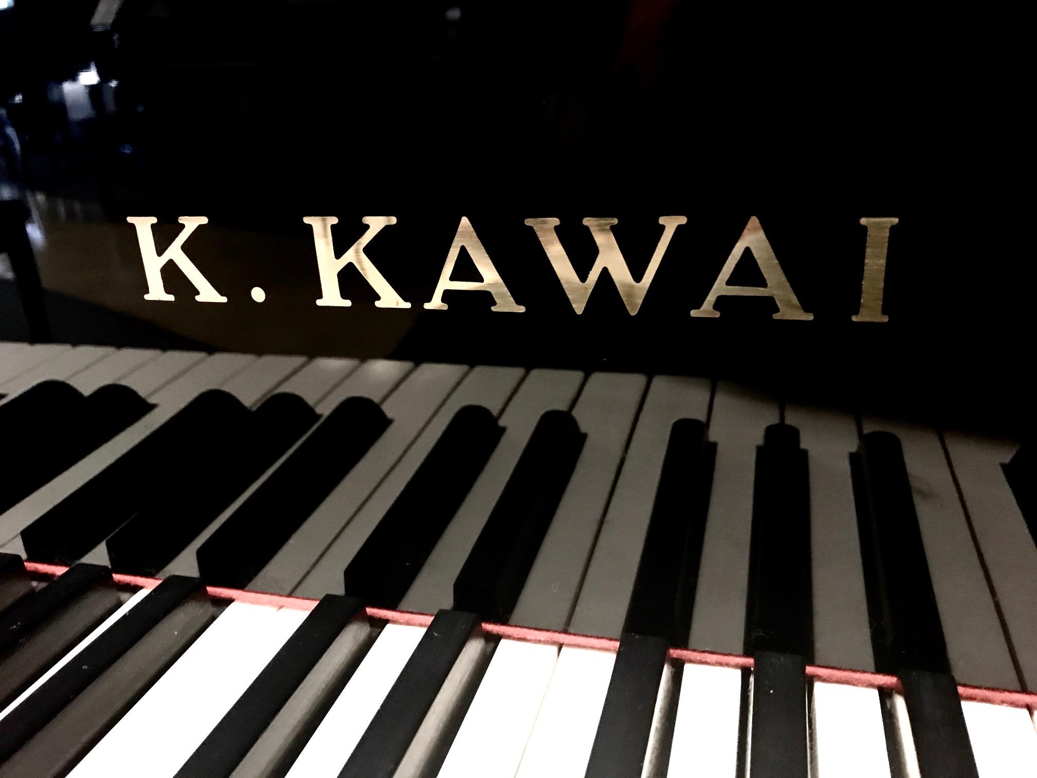 "12356-<br><font color=black><b>KAWAI</b></font> 6'6″ Model RX-5 Semi Concert Grand Mint Condition !  <br><font color=blue><b>Click Picture for ""Live Video""</b></font>"