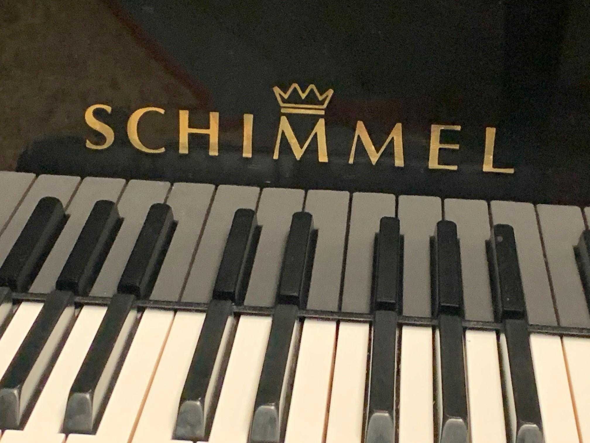 "12355-<br><font color=black><b>SCHIMMEL</b></font> 5'7″ Grand Hand Built in Braunschweig, Germany ""Mint"" <br><font color=blue><b>""Video Coming Soon""</b></font>"