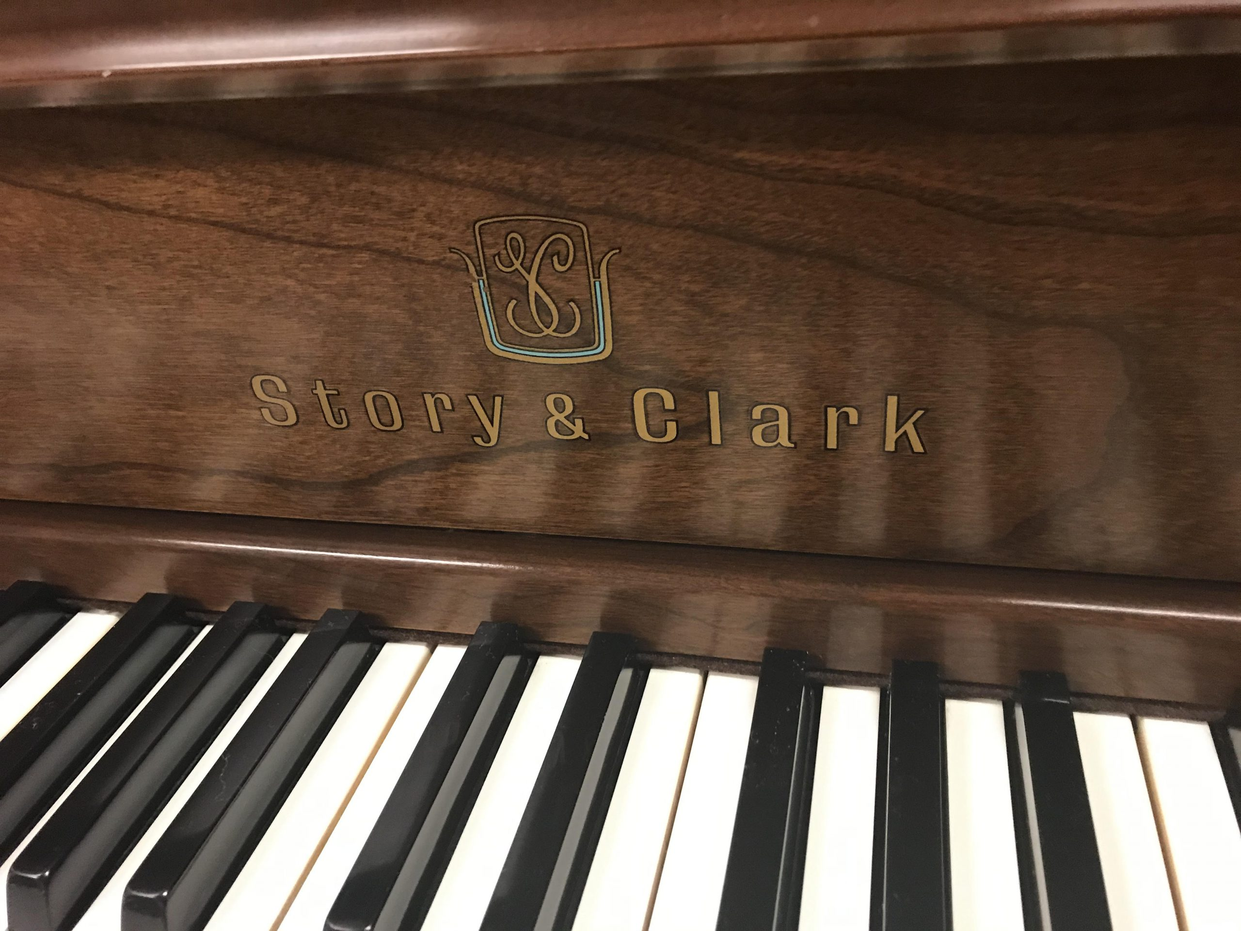"""12116-<br><font color=""""black""""><b>STORY & CLARK</b></font> 42″ Upright Designer Queen Anne Cherry Cabinet Made in the U.S.A. <br><font color=""""blue""""><b>Click Picture for """"Live Video""""</b></font>"""