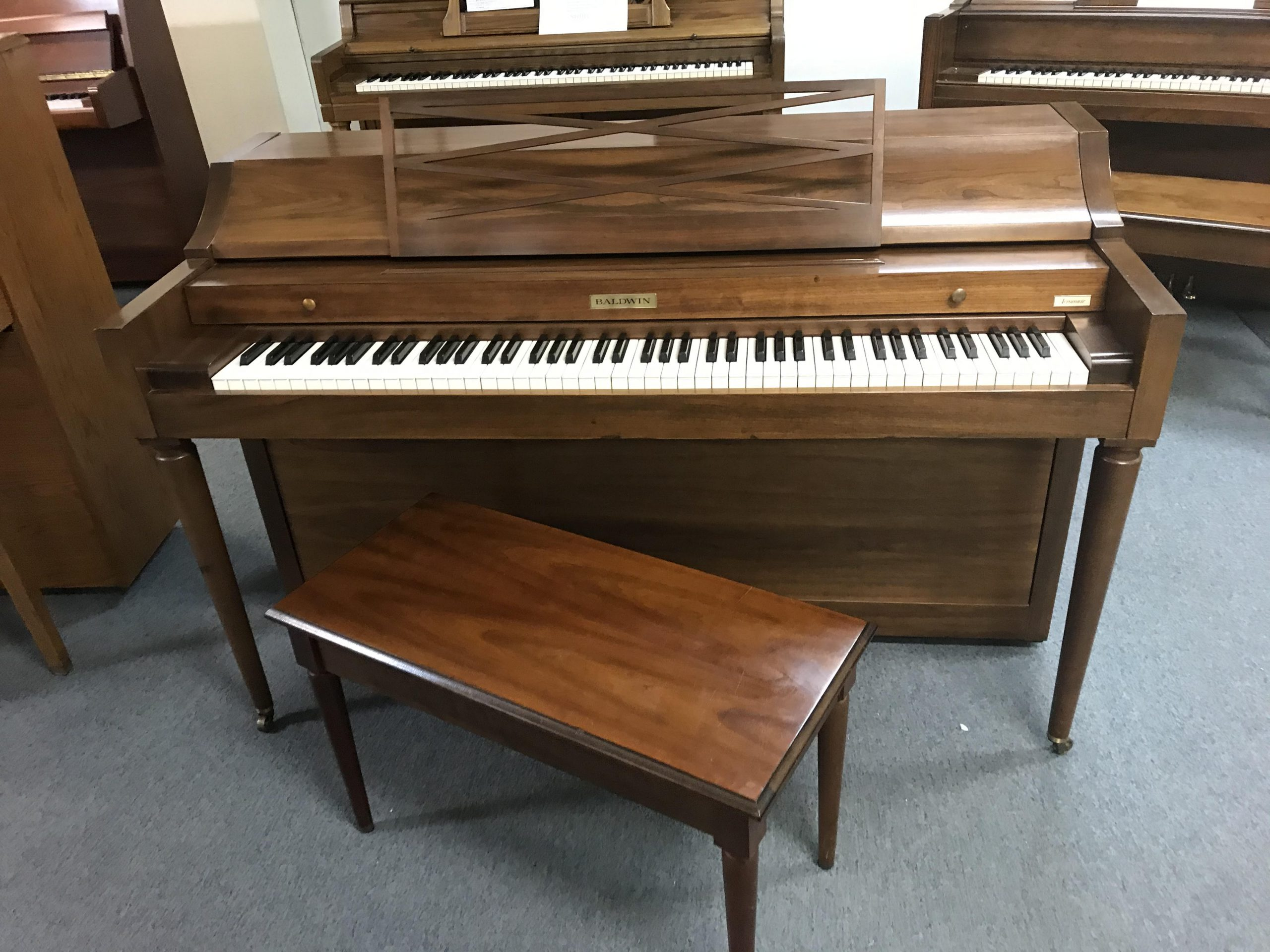 "12118-<br><font color=""black""><b>BALDWIN ""ACROSONIC""</b></font> Upright Hand Built in the U.S.A. When Baldwin was Baldwin ""Excellent""  <br><font color=""blue""><b>""Video Coming Soon""</font>"