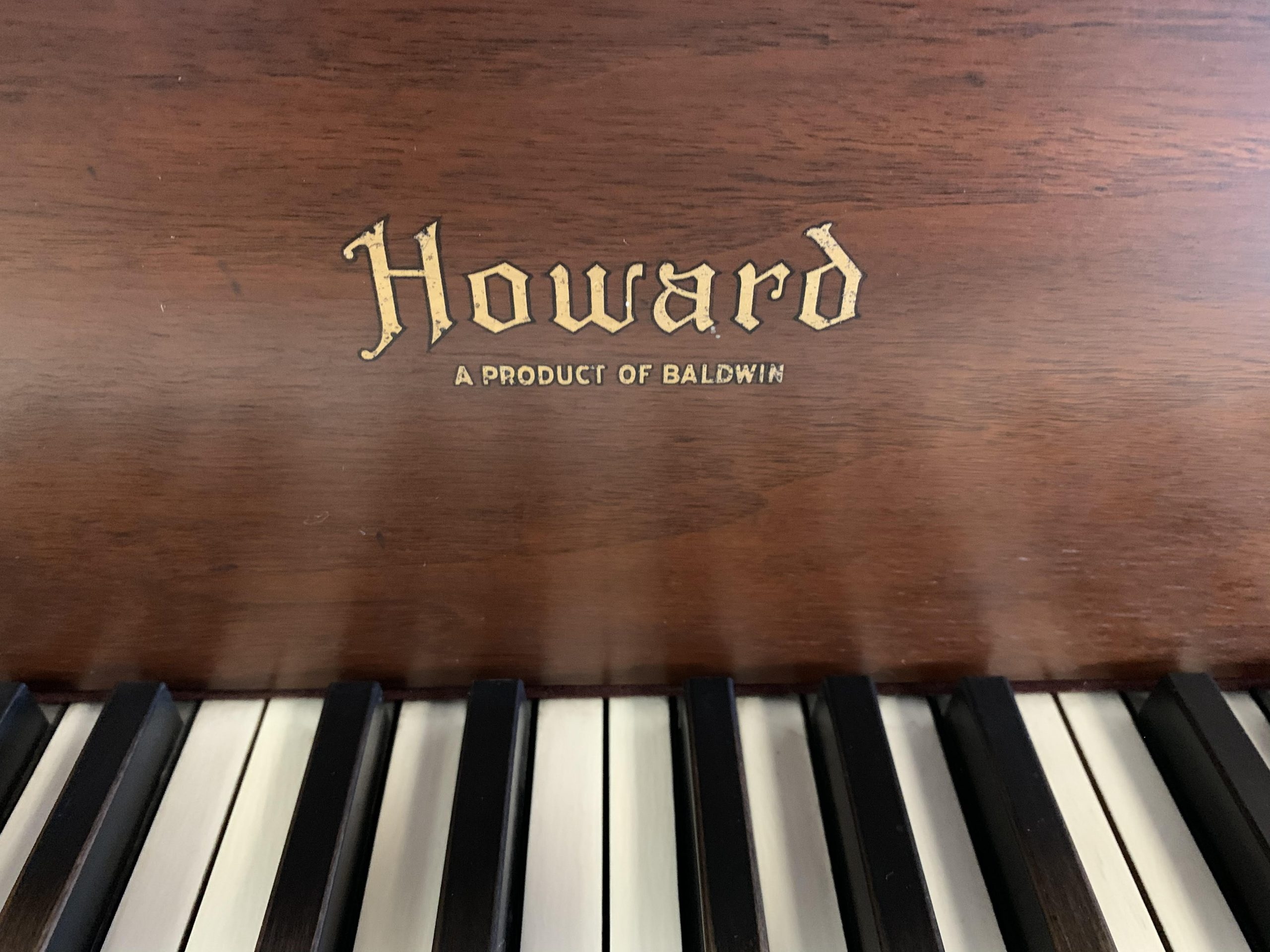 "12050-<br><font color=black><b>BALDWIN ""HOWARD""</b></font> 5'0″ Grand Hand Built in the U.S.A. Beautiful Satin Walnut <br><font color=blue><b>Click Picture for ""Live Video""</b></font>"